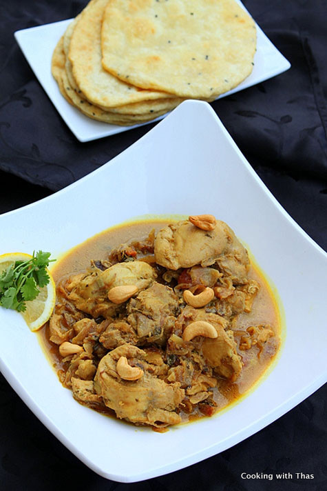 Curry Chicken With Onion  Easy Chicken Curry With Fried ion