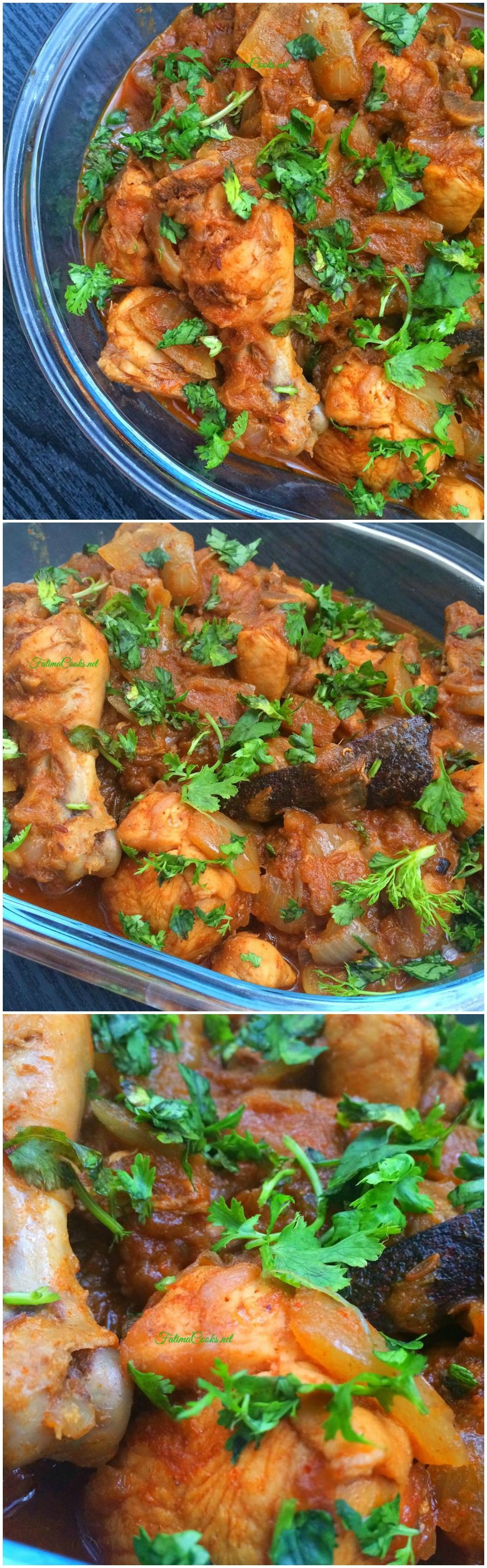 Curry Chicken With Onion  Chicken Dopiaza Chicken Curry With ions Fatima Cooks