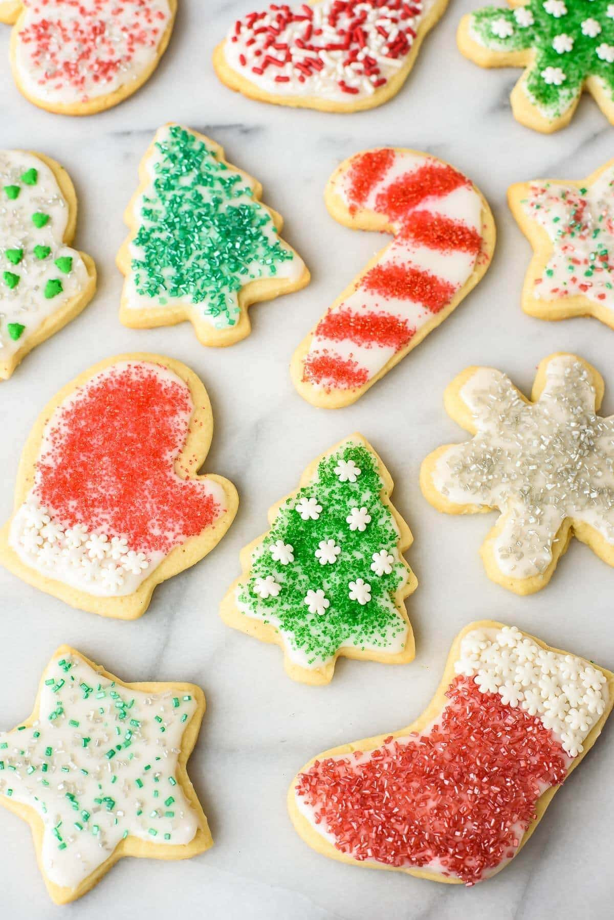 Cut Out Cookies  Cream Cheese Sugar Cookies Recipe