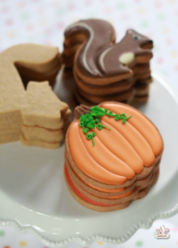 Cut Out Cookies  pumpkin spice cut out cookies