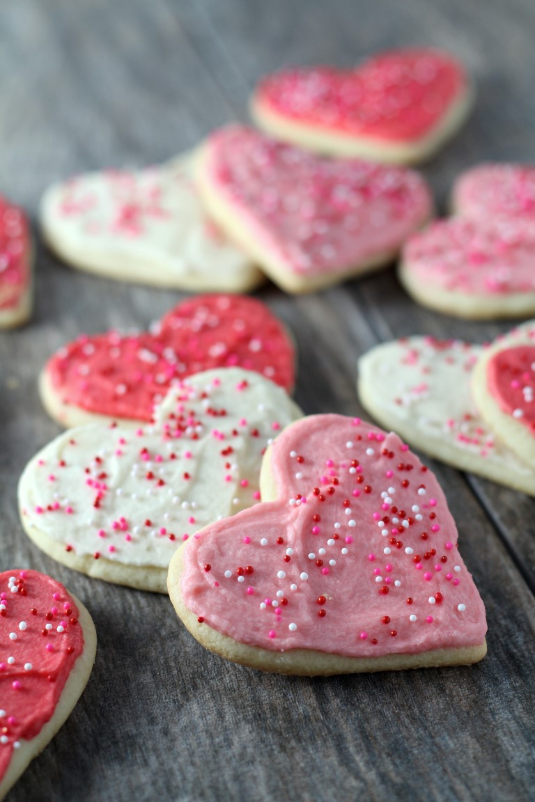Cut Out Cookies  soft sugar cookie cutout recipe sour cream