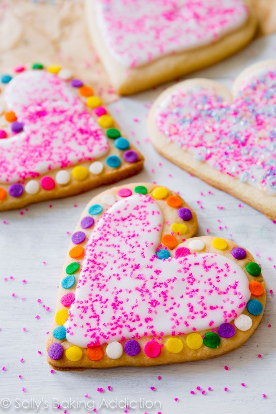 Cut Out Cookies  Soft Cut Out Sugar Cookies Sallys Baking Addiction