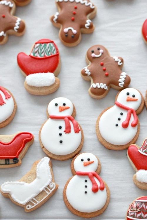 Cute Christmas Cookies  Cute Christmas Cookie Ideas from Tumblr – Happy Holidays