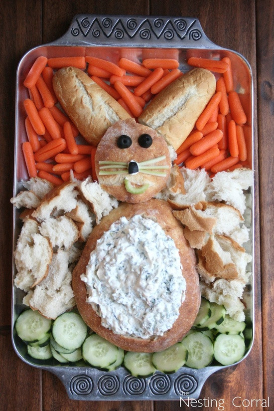 Cute Easter Appetizers  Easter Bunny Veggie Tray – Do It And How