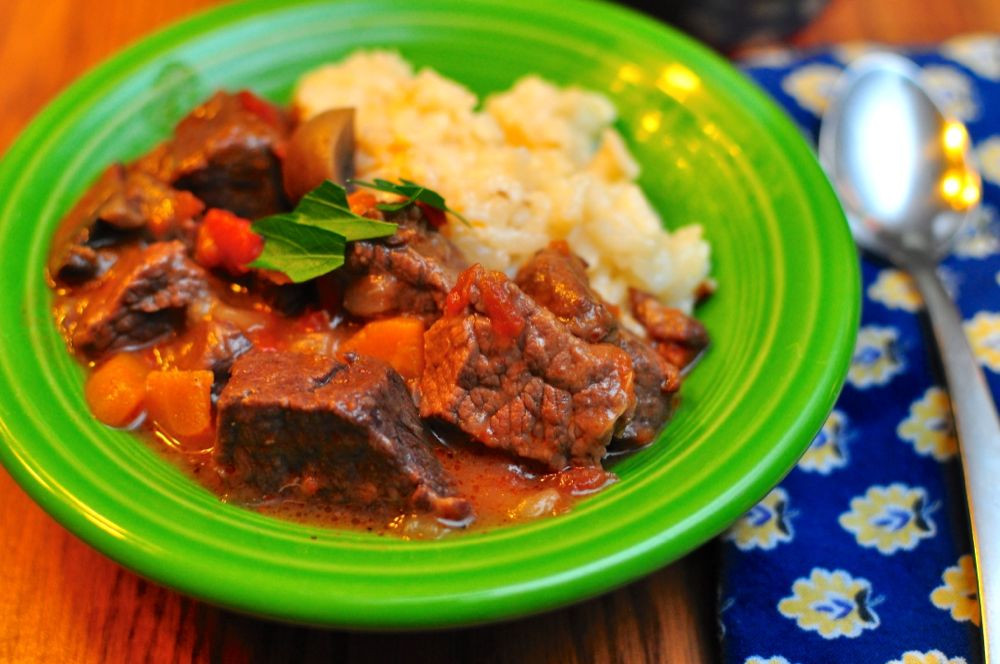 Dad Cooks Dinner  Pressure Cooker Beef Stew with Mushrooms Dad Cooks Dinner