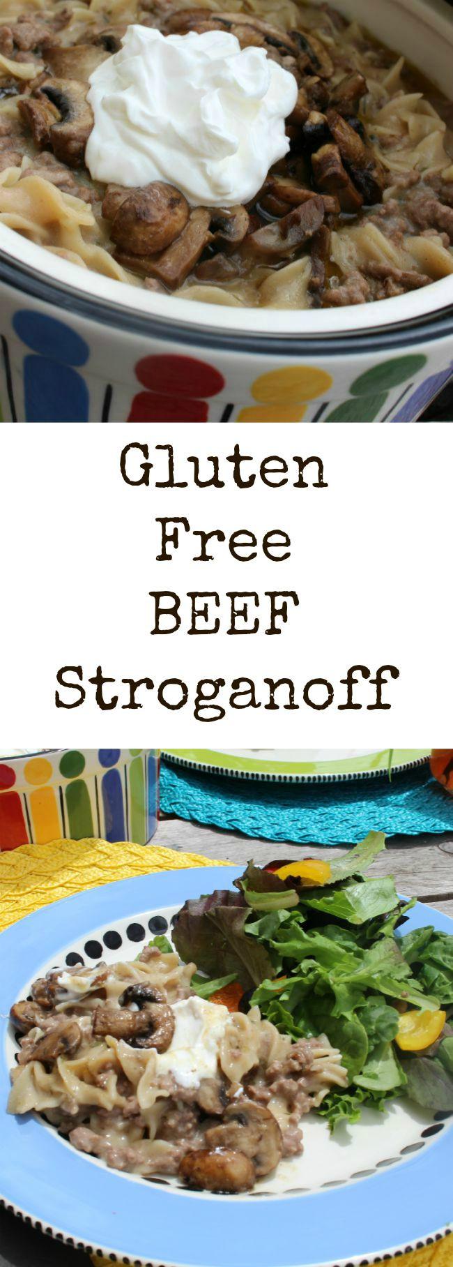 Dairy Free Beef Stroganoff  Gluten Free Ground Beef Stroganoff Casserole