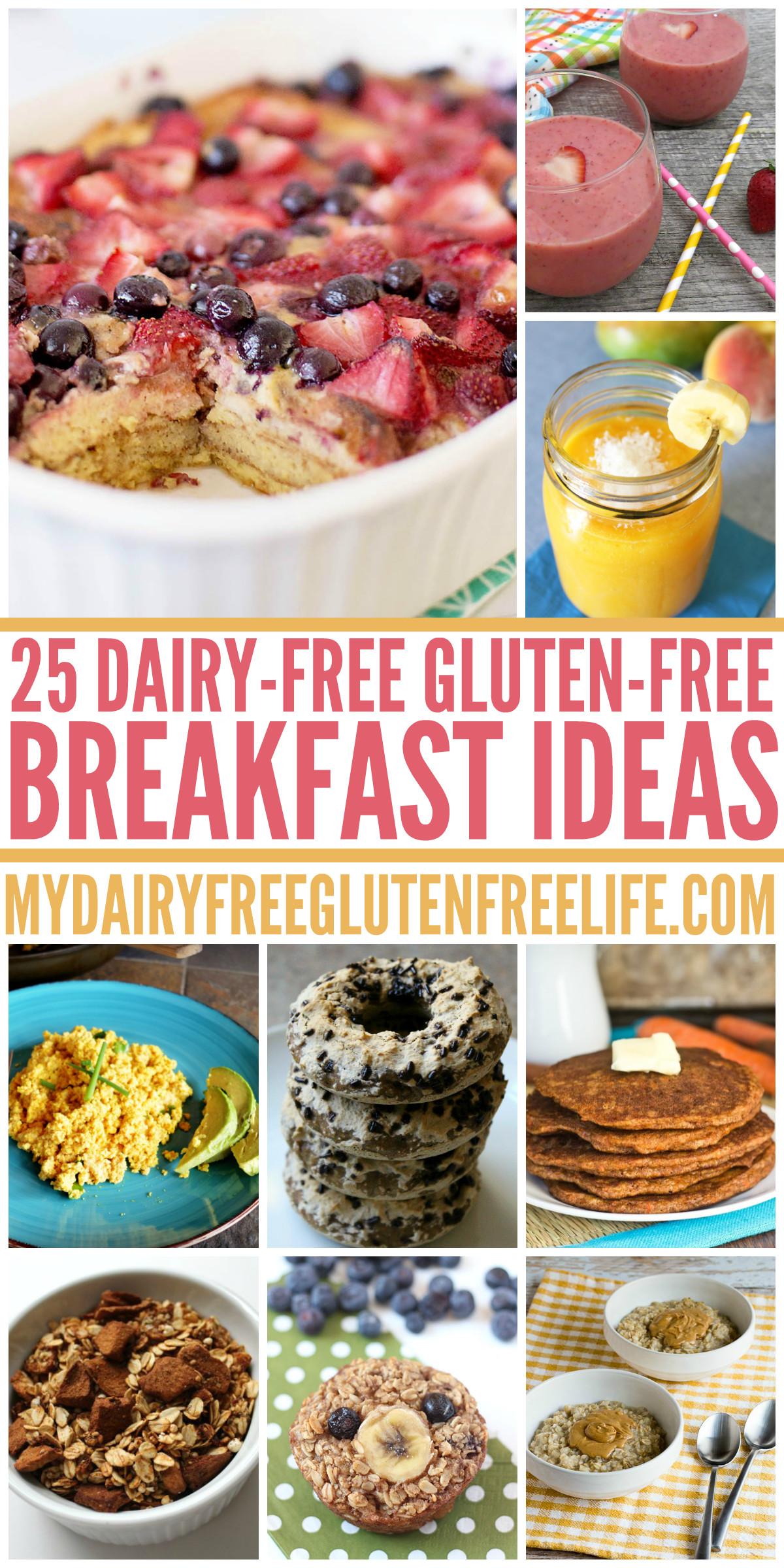 Dairy Free Brunch Recipes  25 Dairy Free Gluten Free Breakfast Ideas My DairyFree