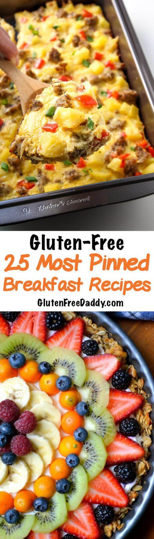 Dairy Free Brunch Recipes  Best 25 Gluten free list ideas on Pinterest