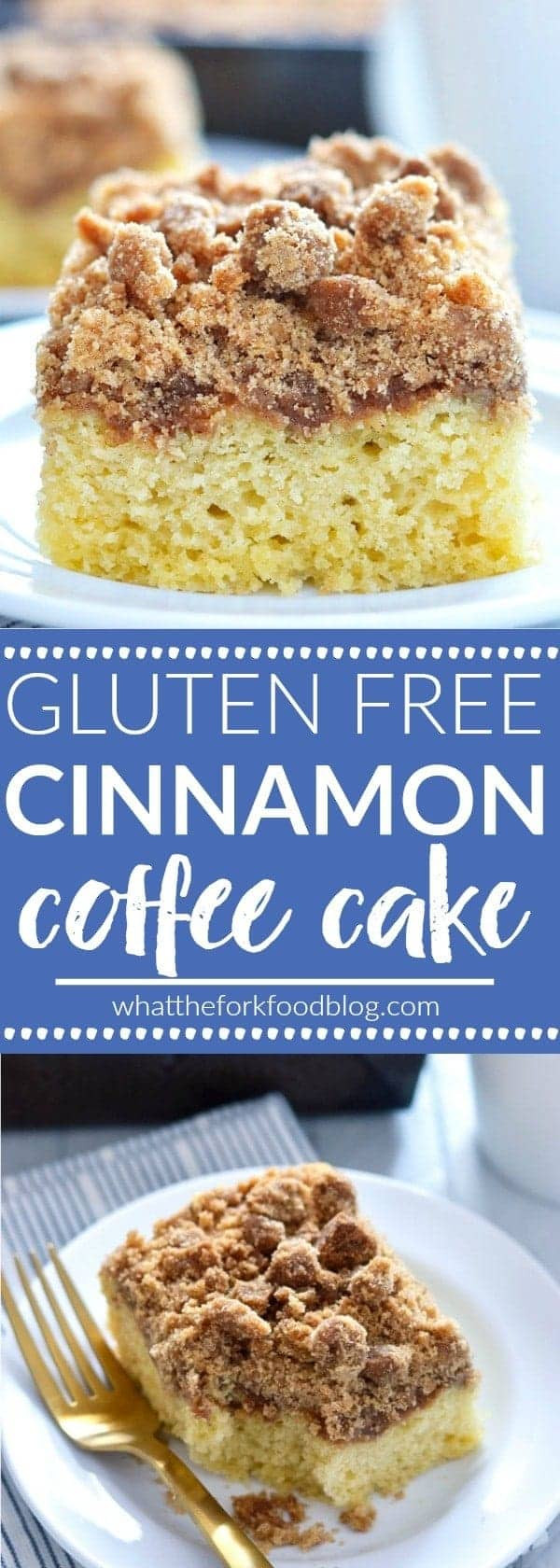 Dairy Free Brunch Recipes  Gluten Free Cinnamon Coffee Cake What the Fork