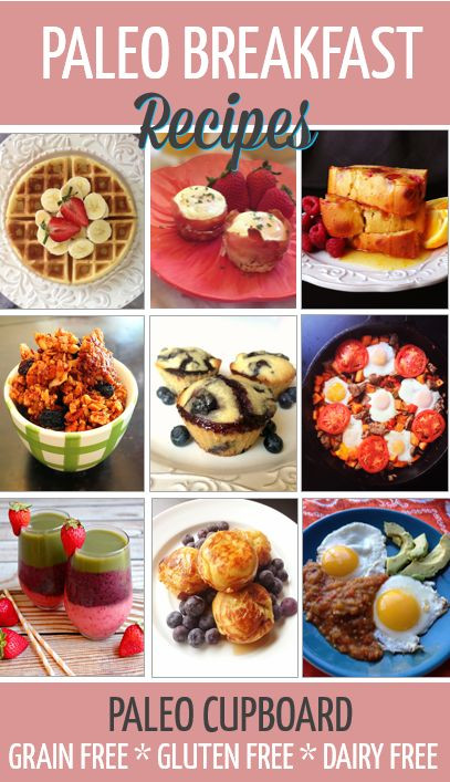 Dairy Free Brunch Recipes  Paleo Breakfast Recipes Gluten