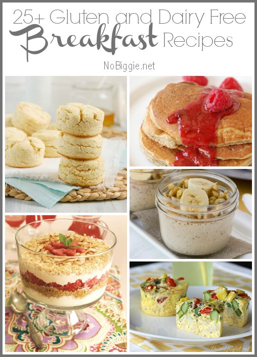 Dairy Free Brunch Recipes  25 Gluten Free and Dairy Free Breakfast Recipes