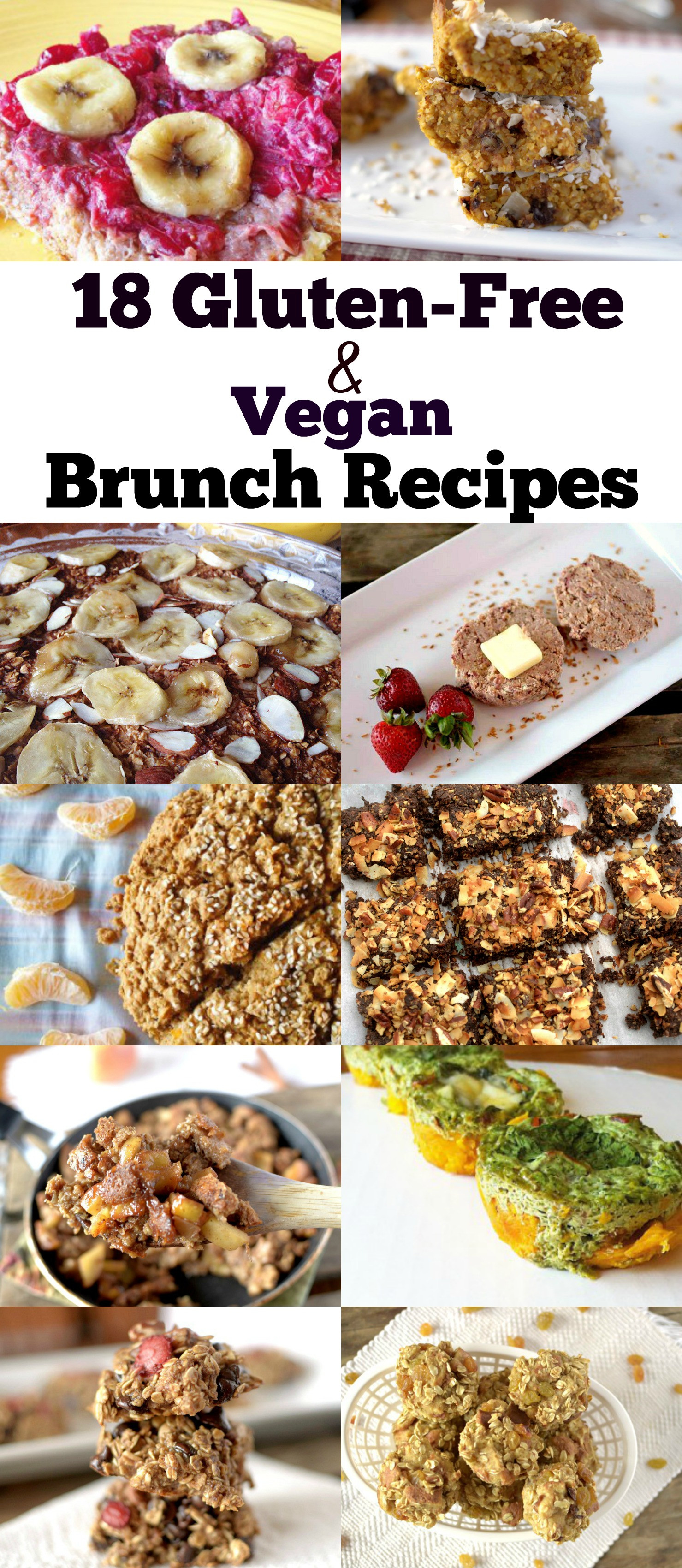 Dairy Free Brunch Recipes  18 Gluten Free and Vegan Brunch Recipes Clean and