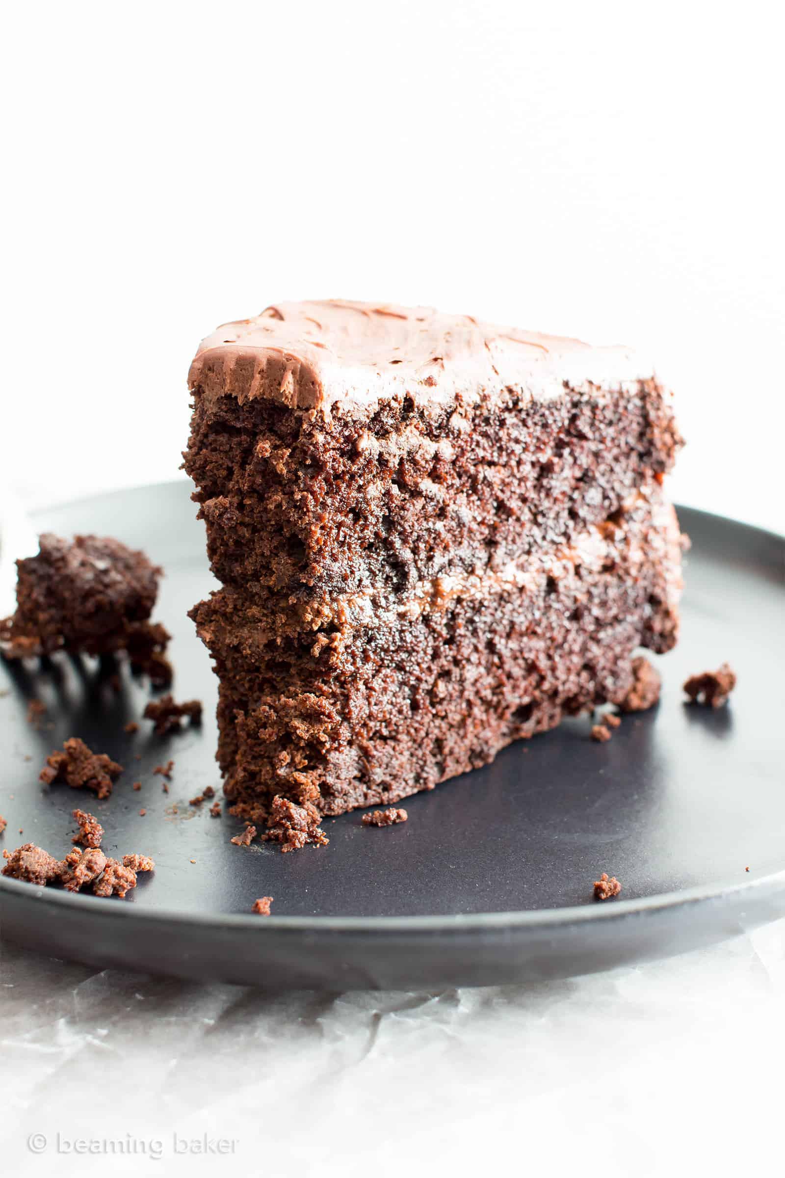 Dairy Free Chocolate Cake  Vegan Chocolate Cake Recipe Gluten Free Dairy Free V