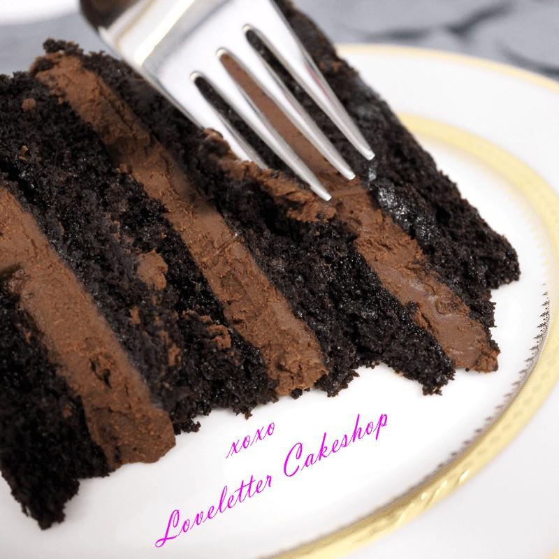 Dairy Free Chocolate Cake  Loveletter Cakeshop s Vegan Double Chocolate Cake Recipe
