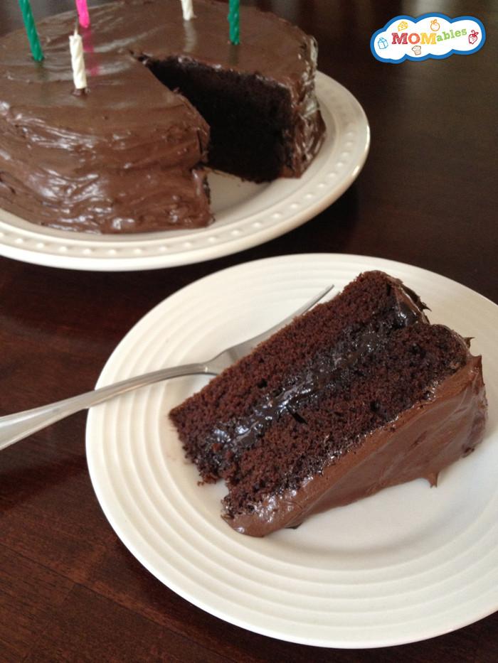 Dairy Free Chocolate Cake  gluten egg dairy free chocolate cake recipe