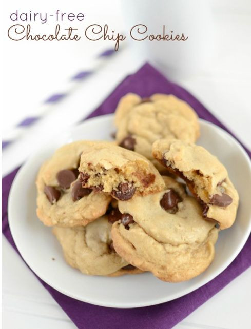 Dairy Free Dessert  Dairy Free Chocolate Chip Cookies