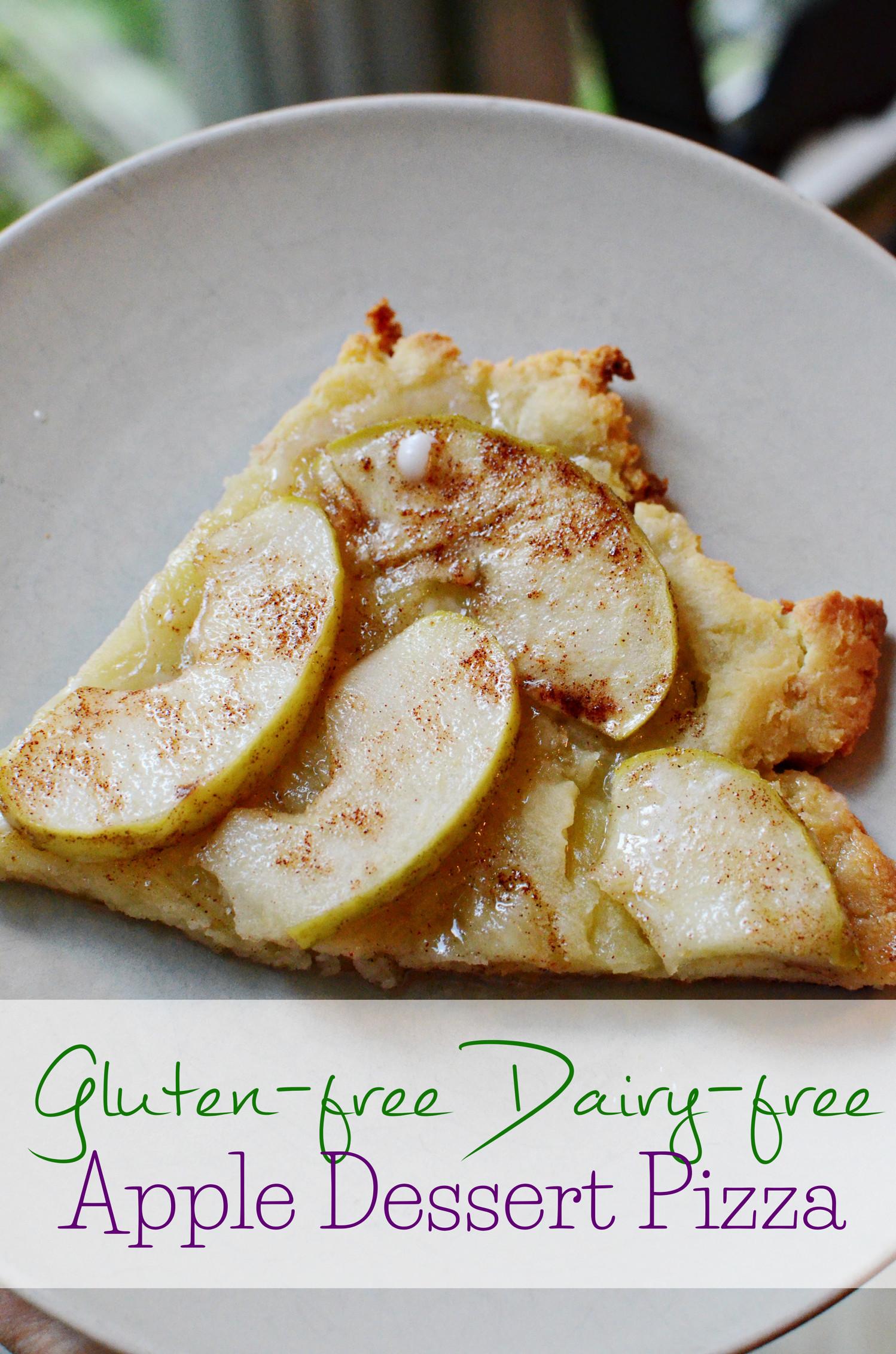 Dairy Free Desserts To Buy  Gluten Free Dairy Free Apple Dessert Pizza