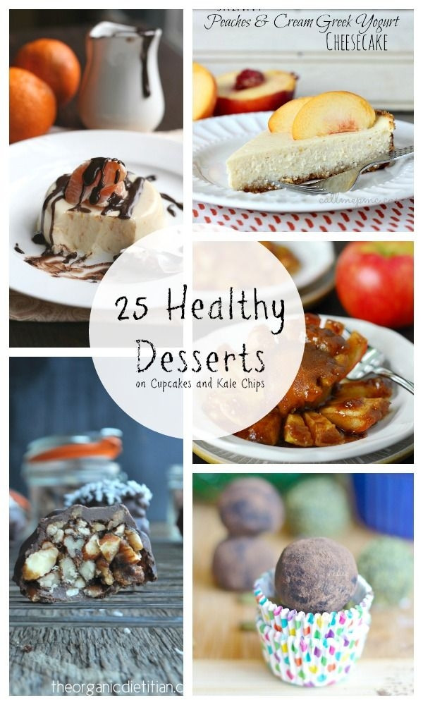 Dairy Free Desserts To Buy  25 Healthy Desserts light skinny low carb gluten free