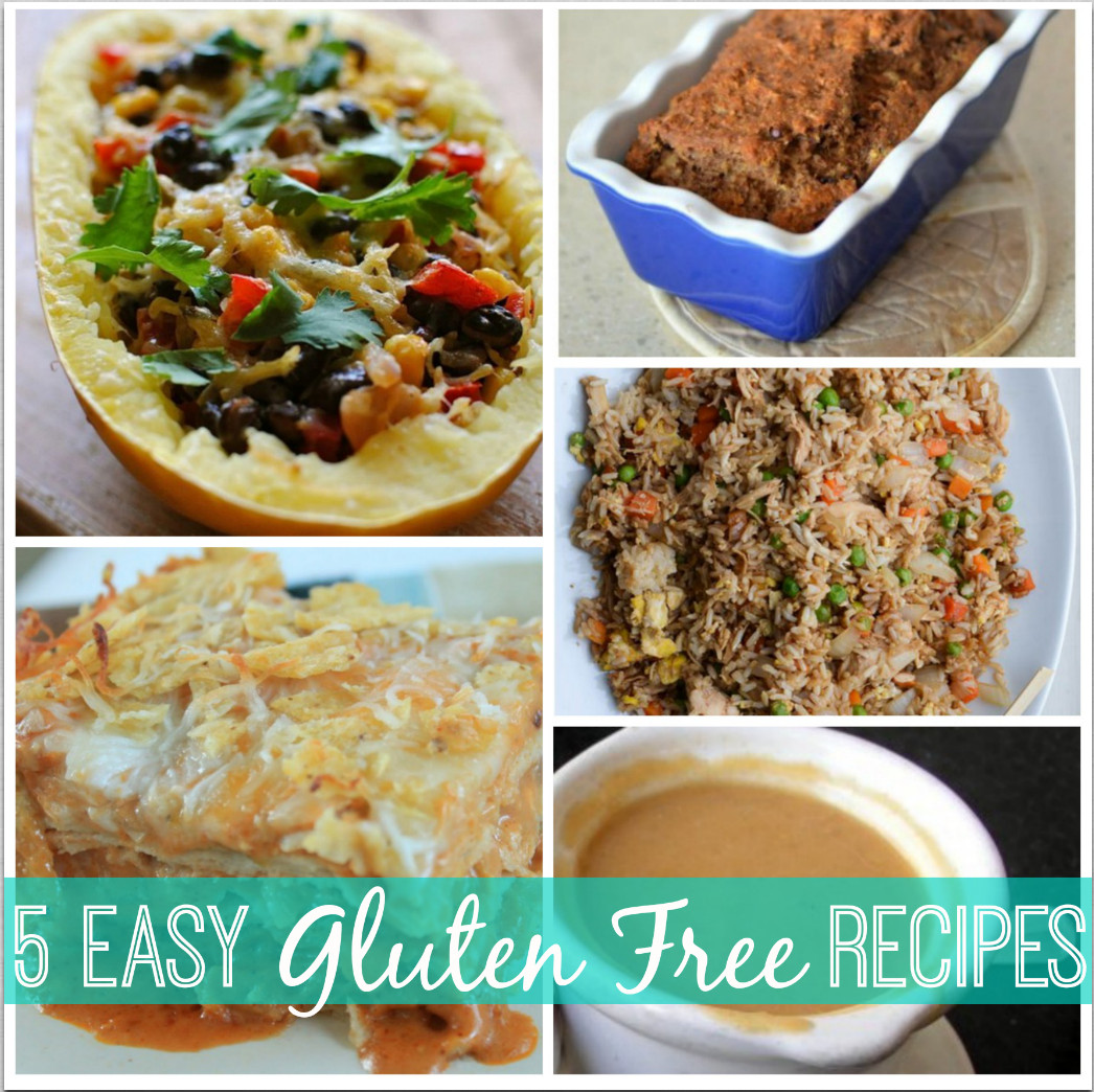 Dairy Free Gluten Free Recipes  Gluten Free Recipe Roundup Banana Bread Cream of Chicken