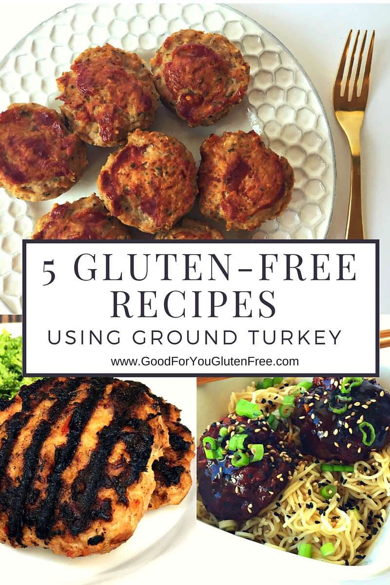 Dairy Free Gluten Free Recipes  5 Gluten Free Recipes Using Ground Turkey
