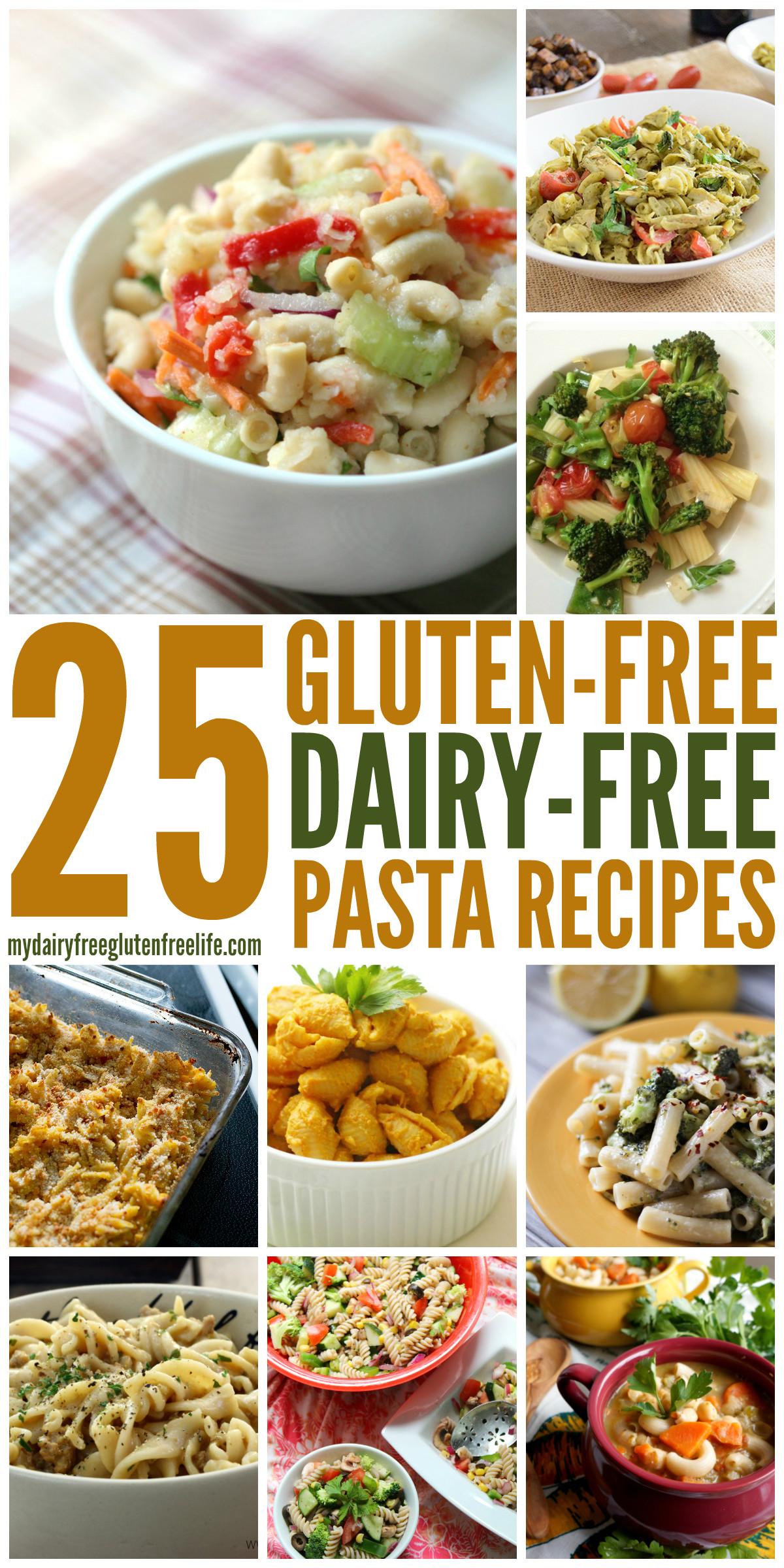 Dairy Free Gluten Free Recipes  Gluten Free Pasta Dishes dairyfree My DairyFree