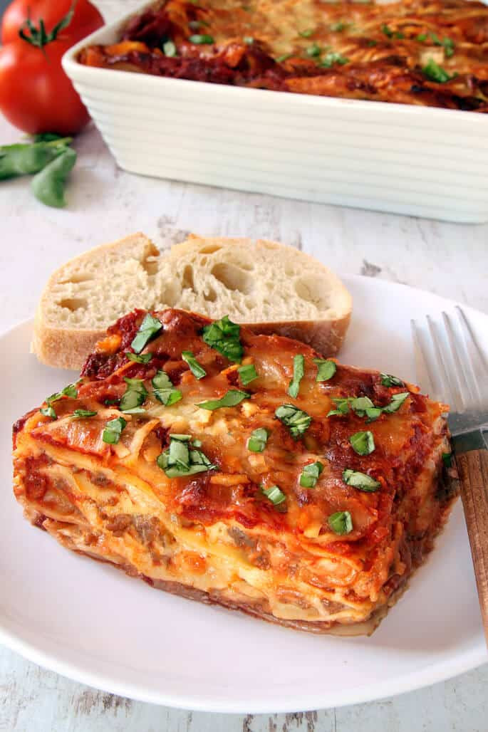Dairy Free Lasagna  Gluten Free Lasagna ⋆ Great gluten free recipes for every