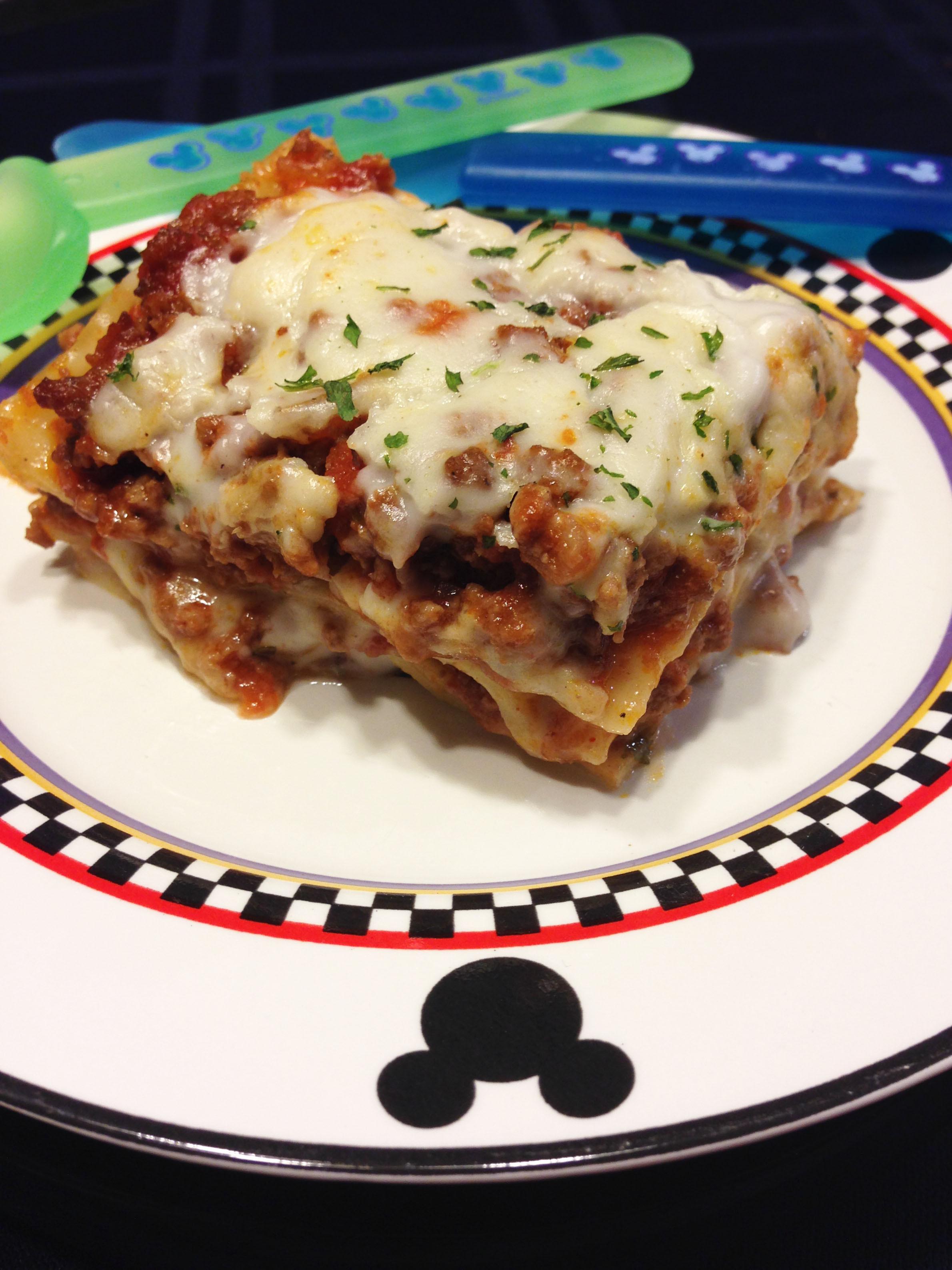 Dairy Free Lasagna  Dairy Free Lasagna