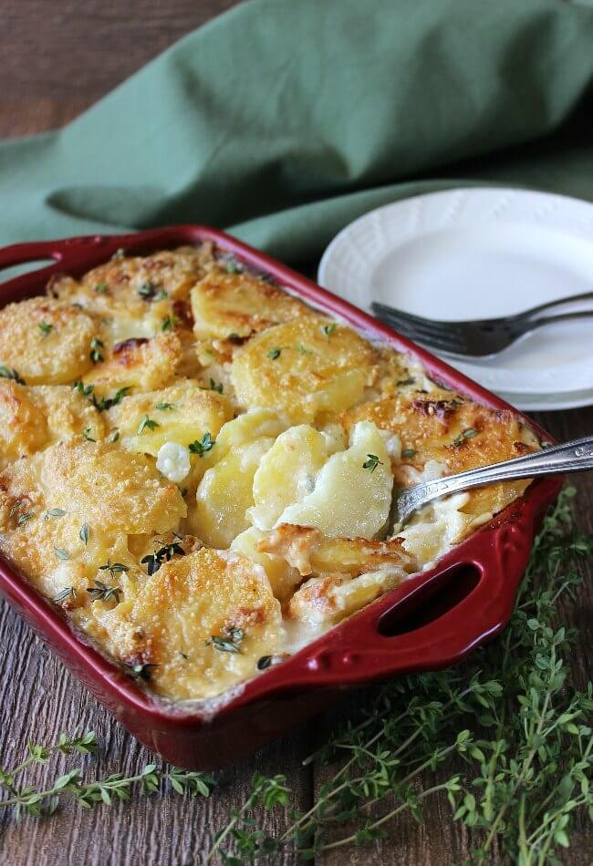 Dairy Free Scalloped Potatoes  Dairy Free Herbed Scalloped Potatoes Recipe