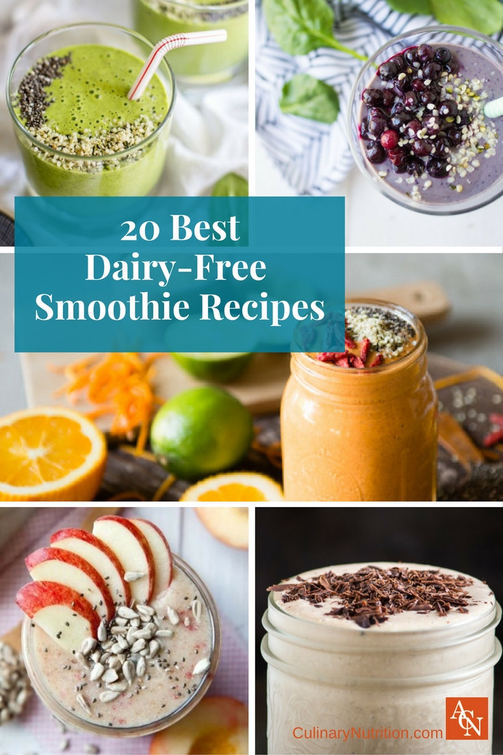 Dairy Free Smoothies  20 Best Dairy Free Smoothie Recipes