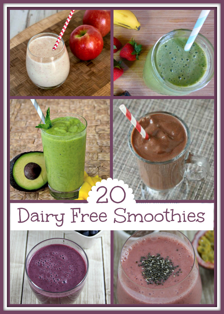 Dairy Free Smoothies  20 Healthy Smoothies that are Dairy Free Upstate Ramblings