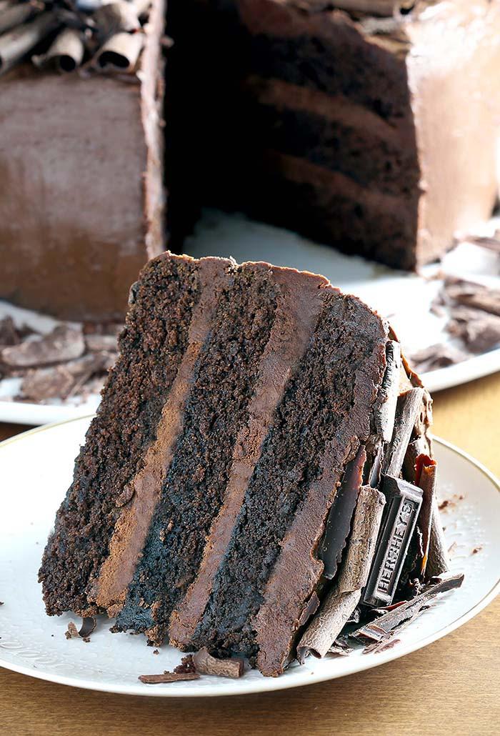 Dark Chocolate Cake  Dark Chocolate Cake Cakescottage