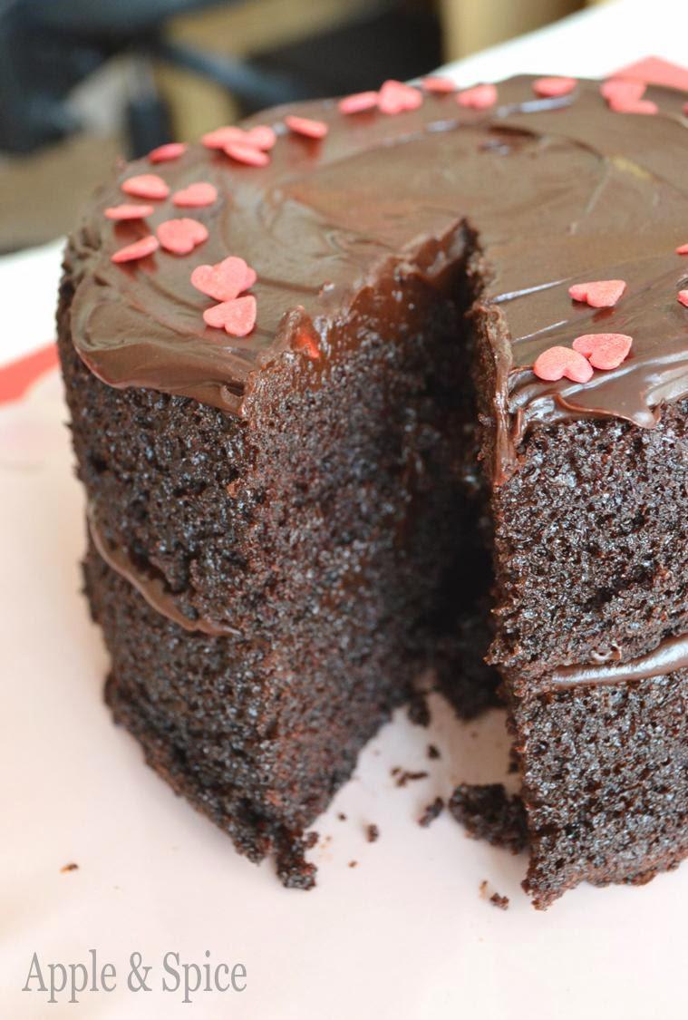 Dark Chocolate Cake  Apple & Spice Indulgent Love By Chocolate Chocolate Cake