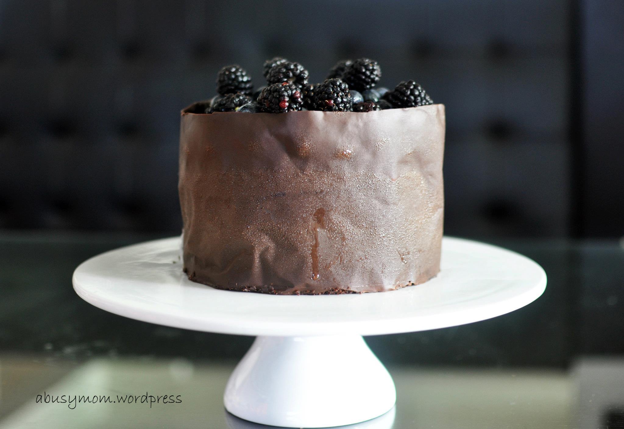 Dark Chocolate Cake  Dark Chocolate Cake