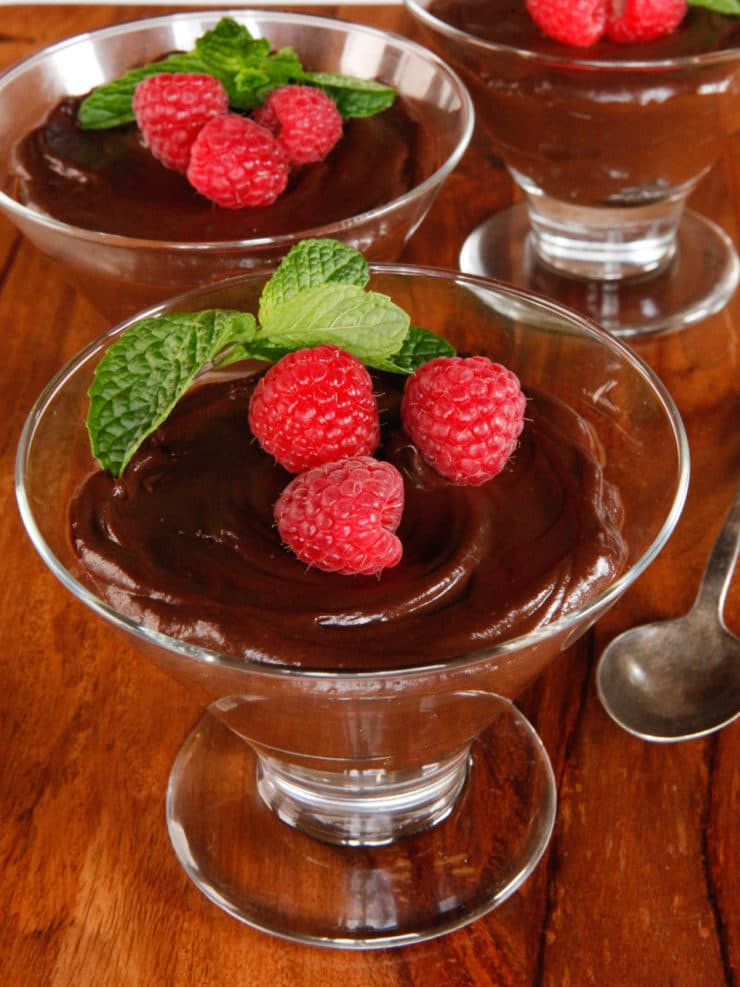Dark Chocolate Desserts  Vegan Dark Chocolate Mousse Easy Dairy Free Dessert Recipe