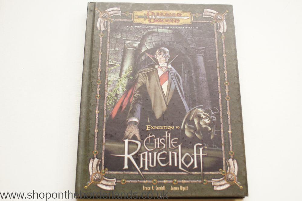 Darkest Dungeon Dinner Cart  Expedition to Castle Ravenloft deluxe hardback Ravenloft