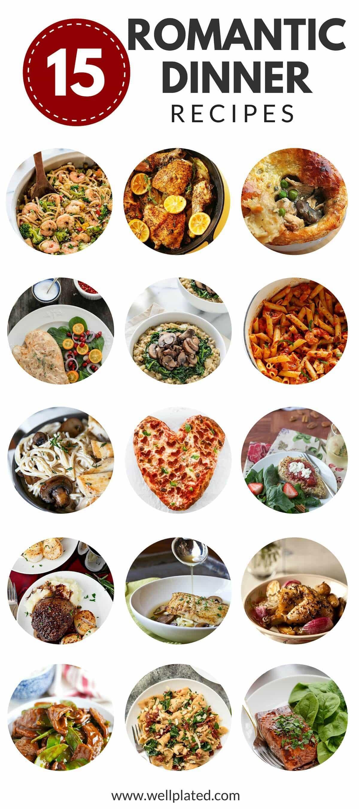 Date Night Dinners  15 Romantic Dinner Recipes