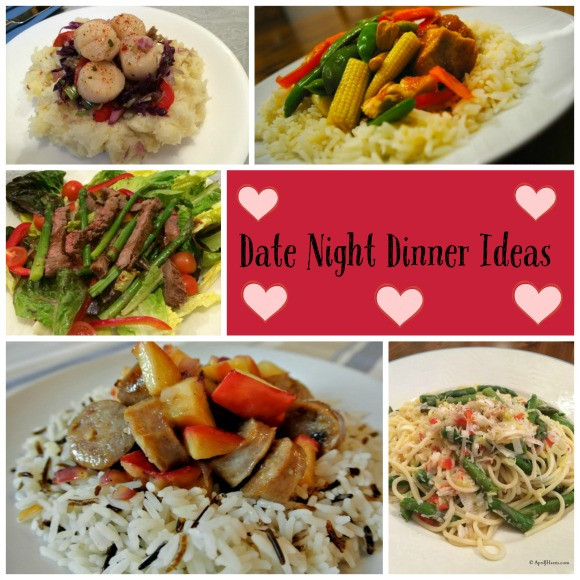 Date Night Dinners  Hearth and Soul Hop Linky Party January 25 April J Harris