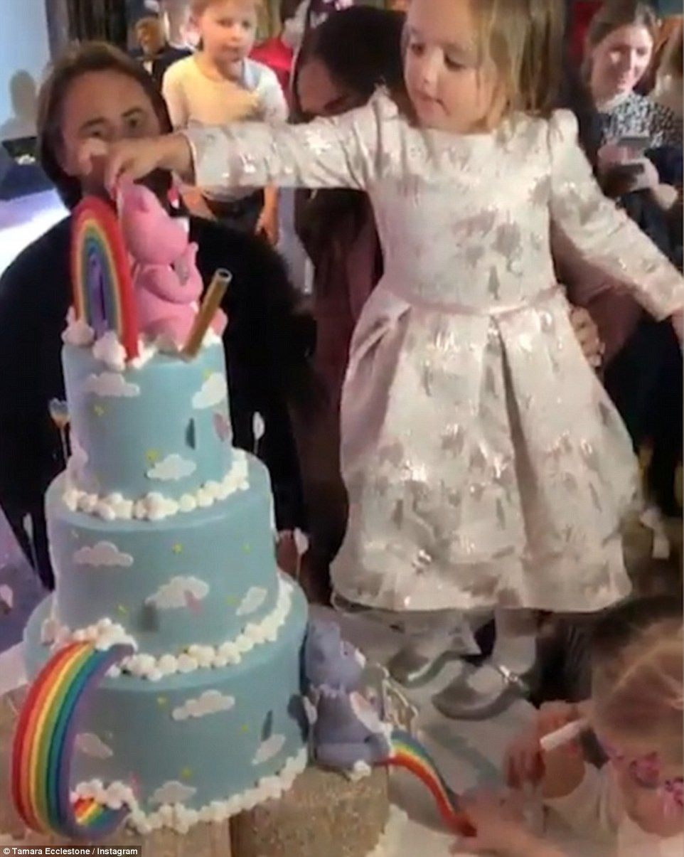 Daughter For Dessert Ch 4  Tamara Ecclestone criticised over daughter Sophia s