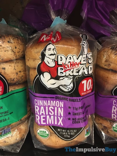 Dave'S Killer Bread Bagels  SPOTTED ON SHELVES 5 5 2017 The Impulsive Buy