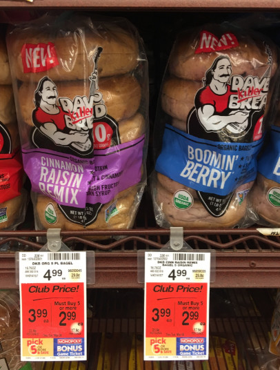 Dave'S Killer Bread Bagels  Dave s Killer Bread Coupon ly $2 49 for a Loaf Super