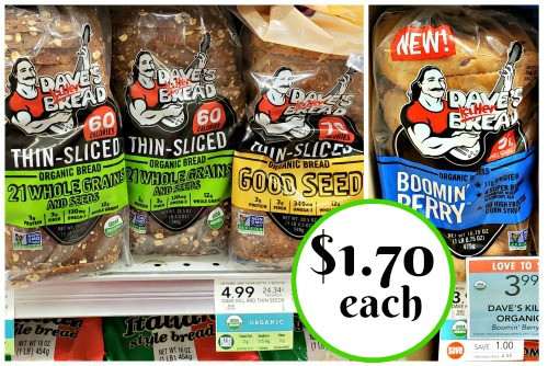 Dave'S Killer Bread Bagels  Dave s Killer Bread Products As Low As $1 70 At Publix