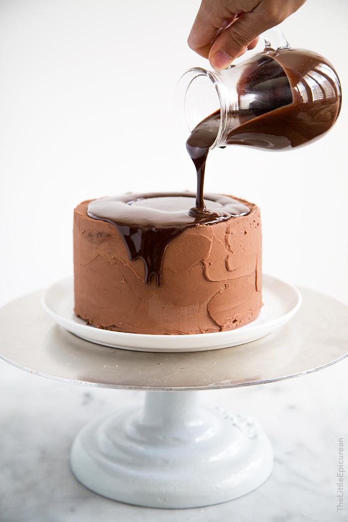 Death By Chocolate Cake  Death by Chocolate Cake The Little Epicurean