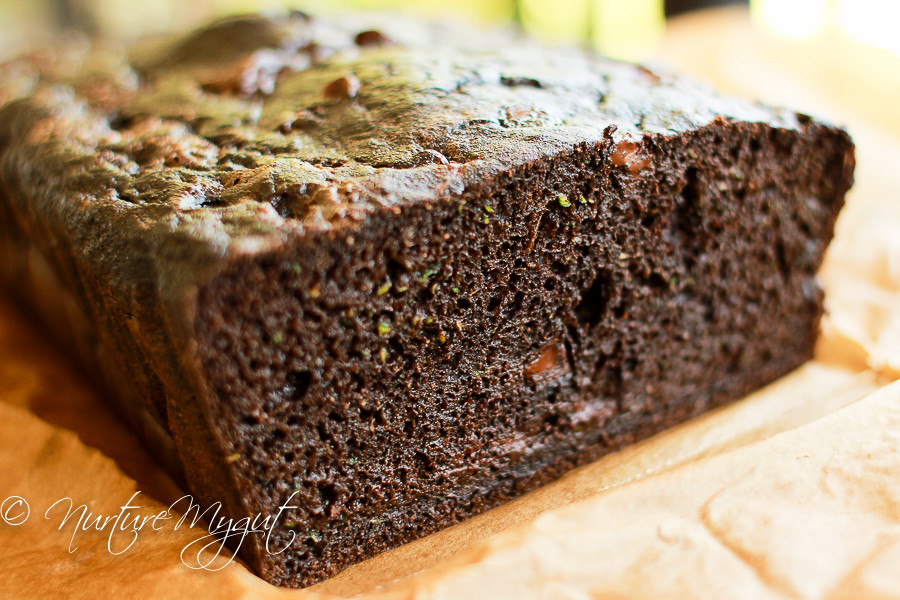 Death By Chocolate Zucchini Bread  Grain free Death by Chocolate Zucchini Bread Dairy free