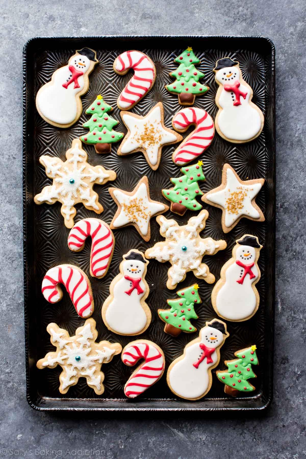 Decorated Sugar Cookies  1 Sugar Cookie Dough 5 Ways to Decorate Sallys Baking