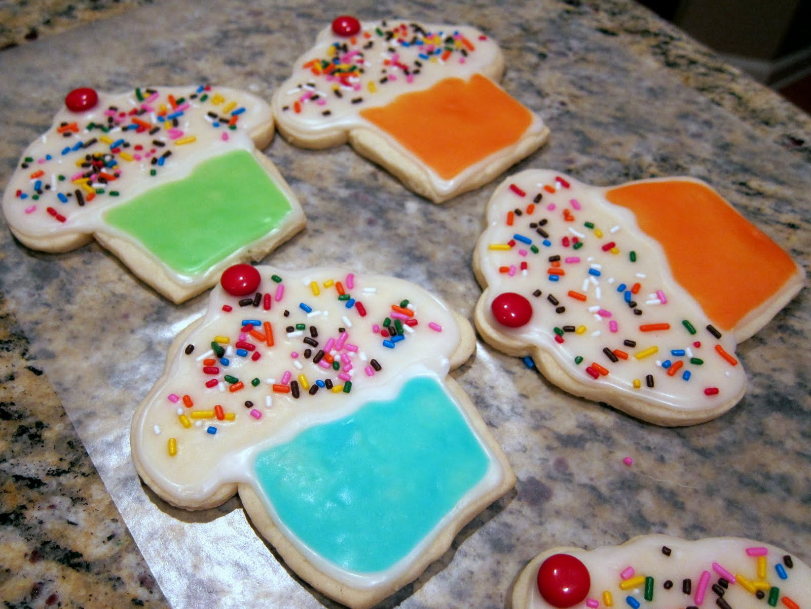 Decorated Sugar Cookies  Decorated Sugar Cookies