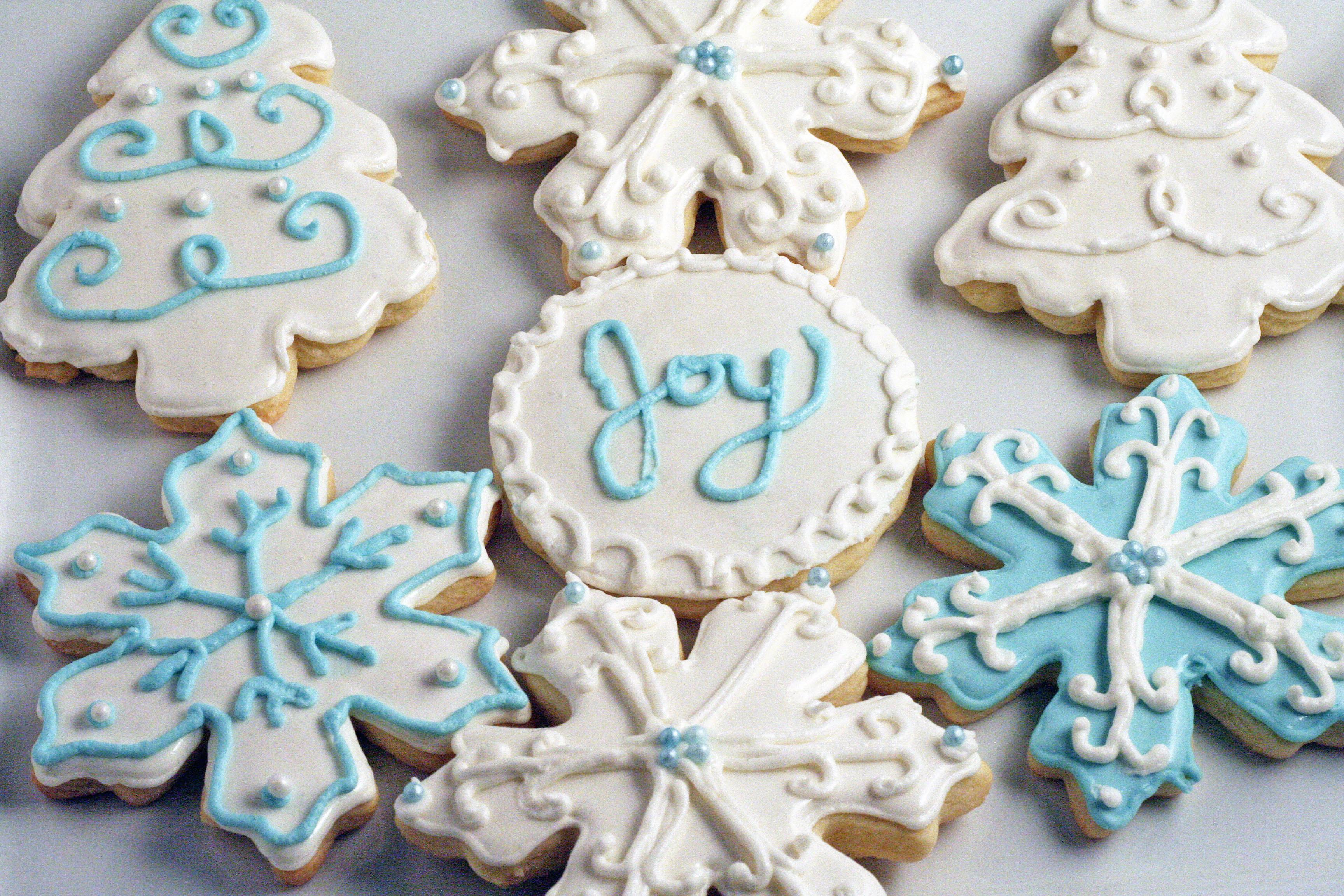 Decorated Sugar Cookies  Decorated Christmas Sugar Cookies