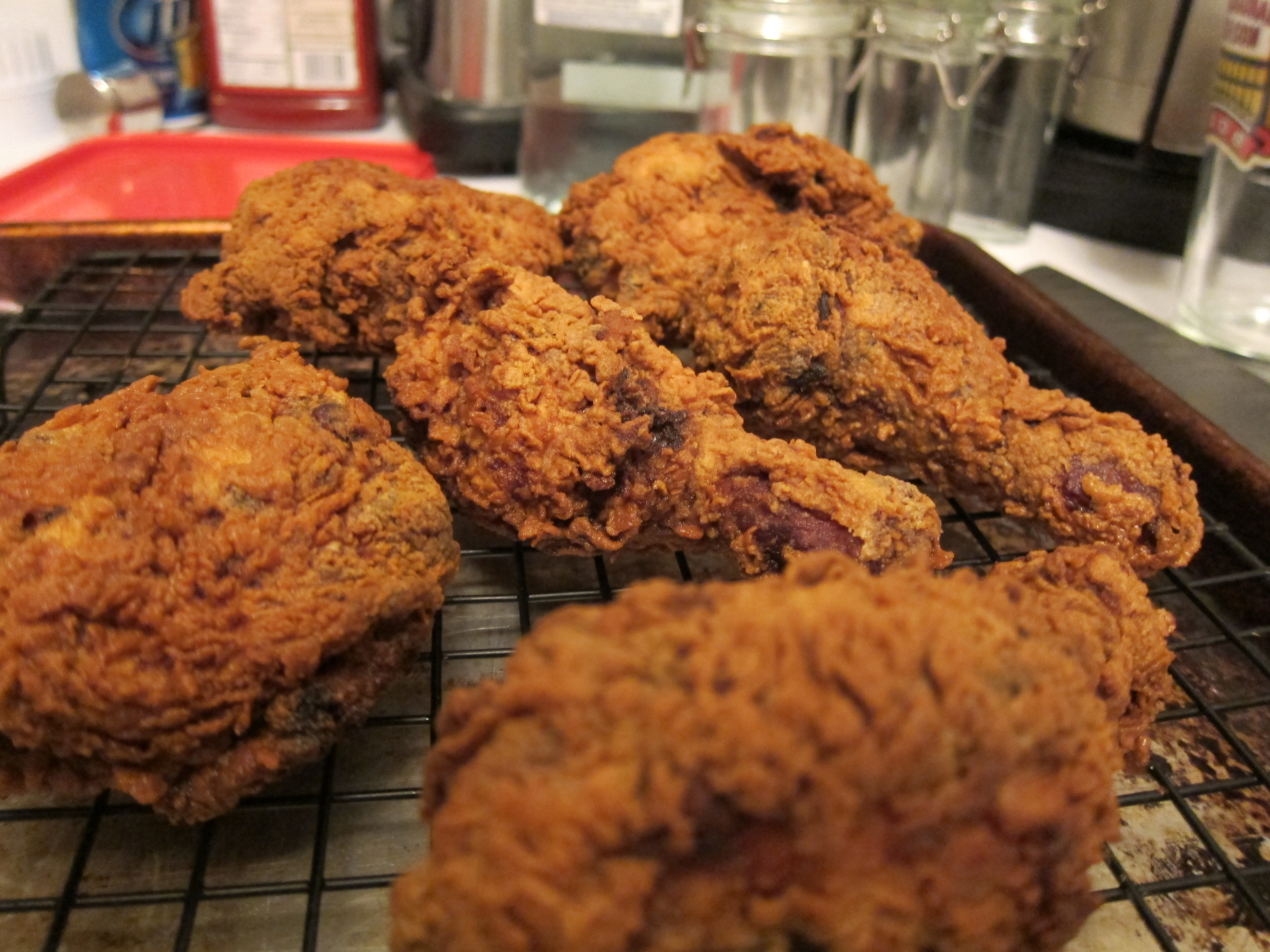 Deep Fried Chicken  Deep Fried Chicken