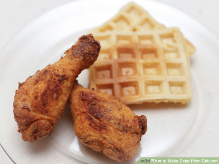 Deep Fried Chicken  How to Make Deep Fried Chicken 15 Steps with