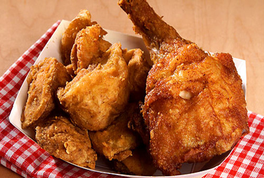 """Deep Fried Chicken  The Bunnell Farm """"TRADITIONAL"""" Diet The save your"""