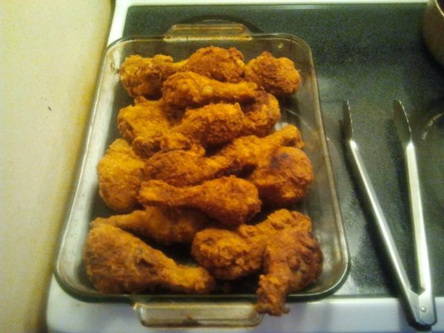 Deep Fried Chicken Legs  deep fried chicken legs